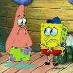 spongebob menilai