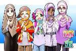 Kumpulan Gambar Kartun Muslimah Terbaru 4