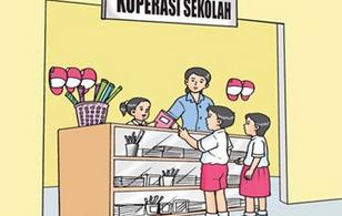 lustrasi koperasi sekolah