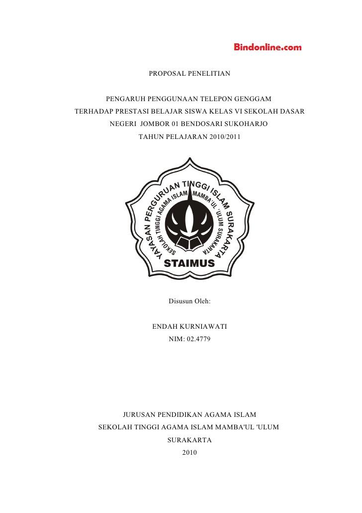 Judul Skripsi Bahasa Indonesia Di Sd