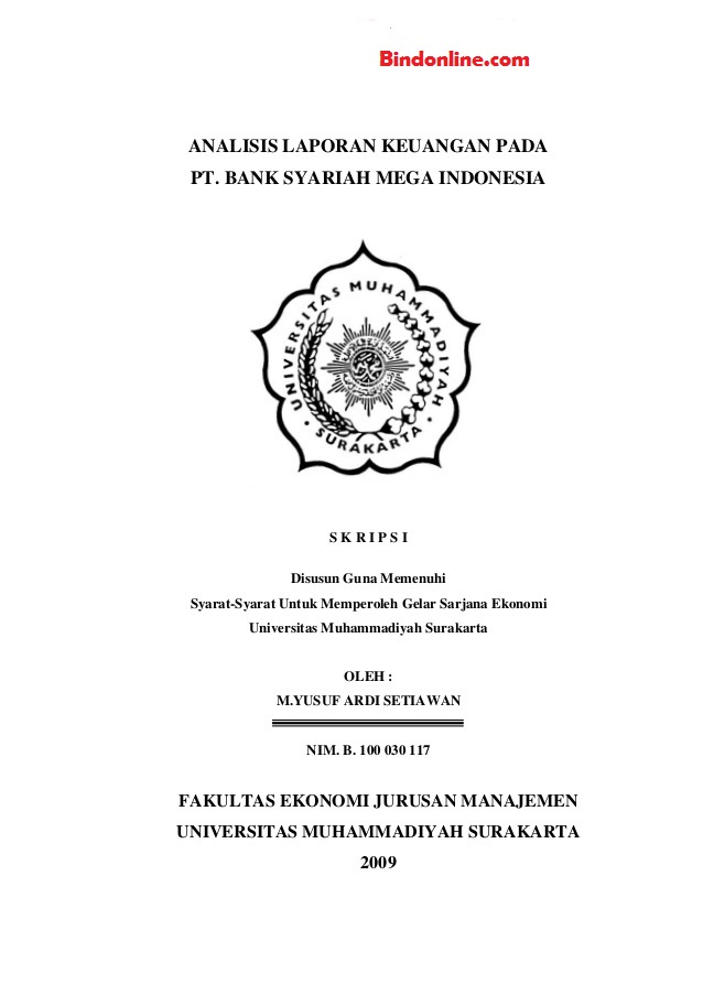 Judul Skripsi Kuantitatif Akuntansi Syariah