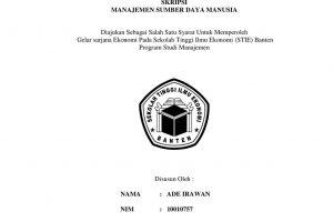 contoh judul skripsi manajemen sdm