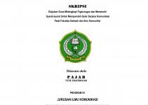 judul skripsi ilmu komunikasi