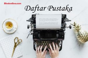 Penulisan Daftar Pustaka yang Benar